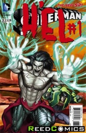 Superman Volume 4 #23.3 Hel Standard Edition