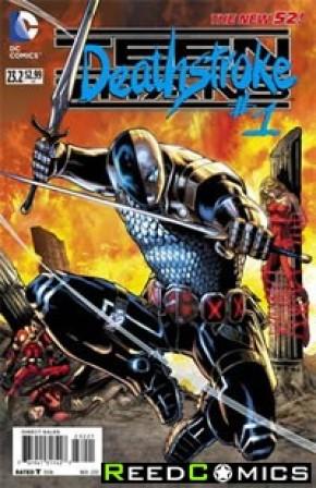 Teen Titans Volume 4 #23.2 Deathstroke Standard Edition