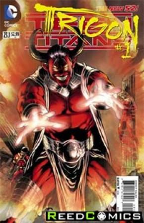 Teen Titans Volume 4 #23.1 Trigon Standard Edition