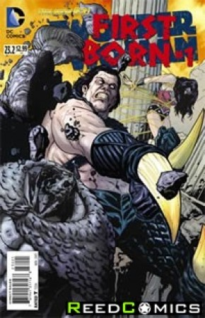 Wonder Woman Volume 4 #23.2 First Born Standard Edition