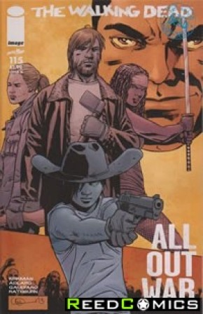 The Walking Dead #115 (Midnight Release Variant Cover)