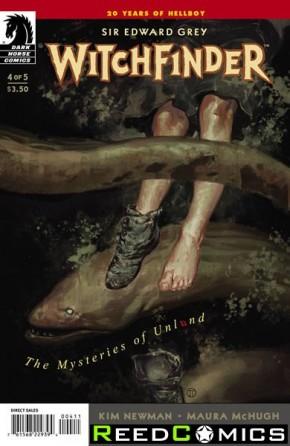 Witchfinder Mysteries of Unland #4