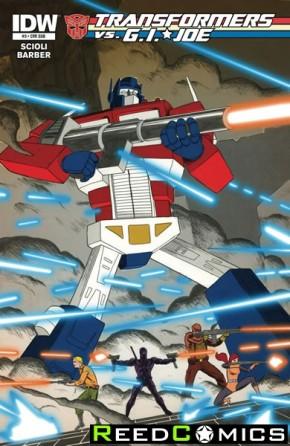 Transformers vs GI Joe #3 (Subscription Cover Variant)