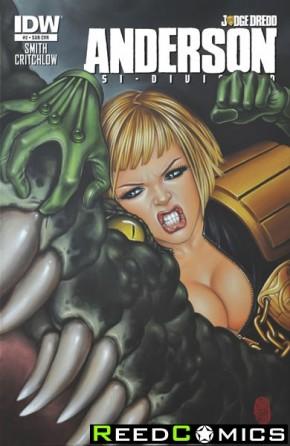 Judge Dredd Anderson Psi Division #2 (Subscripiton Variant Cover)