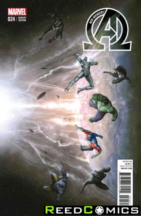 New Avengers Volume 3 #24 (1 in 10 Incentive Variant Cover)
