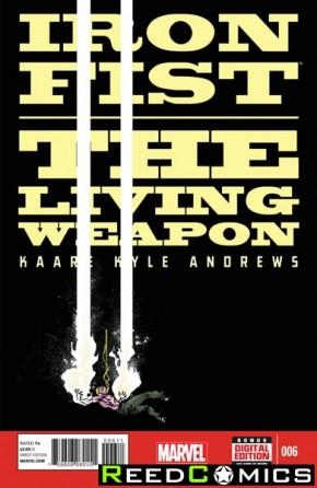 Iron Fist Living Weapon #6