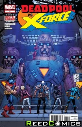 Deadpool vs X-Force #4