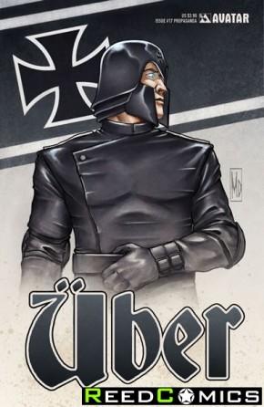 Uber #17 (Propaganda Poster Cover)