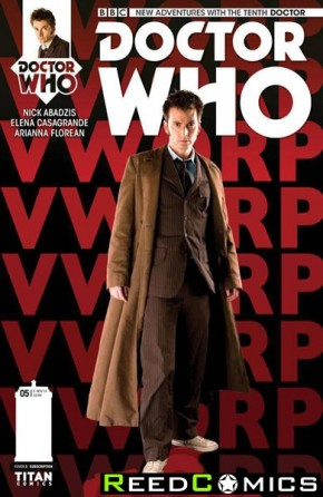 Doctor Who 10th #5 (Subscription Variant Cover)
