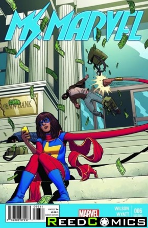 Ms Marvel Volume 3 #6 (2nd Print)