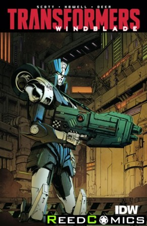 Transformers Windblade Combiner Wars #7 (1 in 10 Incentive Variant Cover)