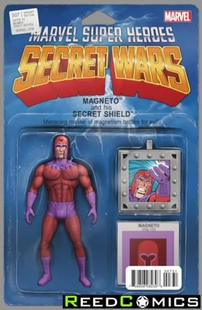 Secret Wars #7 (Christopher Action Figure Variant Cover)