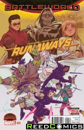 Runaways Volume 4 #4