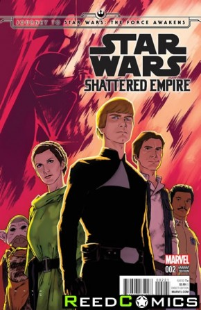 Journey to Star Wars The Force Awakens Shattered Empire #2 (1 in 25 Anka Incentive Variant Cover)