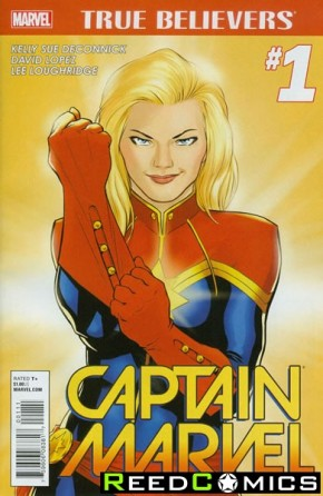 True Believers Captain Marvel Volume 7 #1