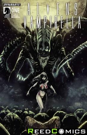 Aliens Vampirella #1
