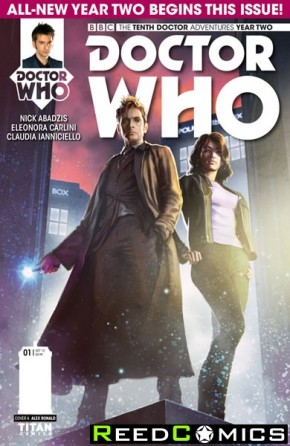 Doctor Who 10th Year Two #1