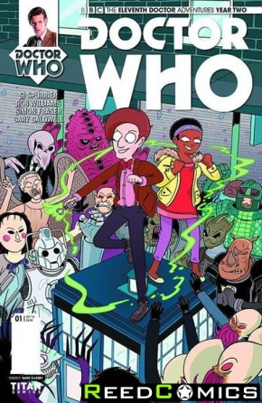 Doctor Who 11th Year Two #1 (1 in 10 Incentive Variant Cover)