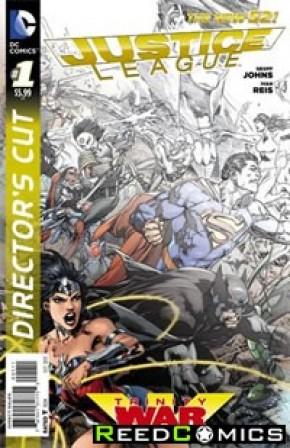 Justice League Trinity War Directors Cut #1