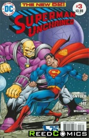 Superman Unchained #3 (75th Anniversary Bronze Age 1 in 50 Variant Cover)