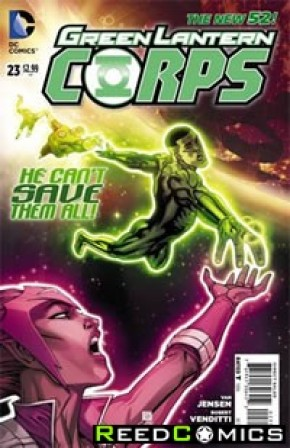 Green Lantern Corps Volume 3 #23