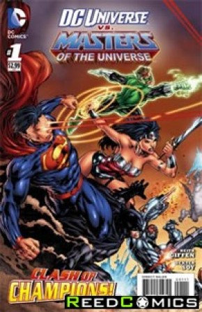 DC vs. the Masters of the Universe #1 (Cover A)