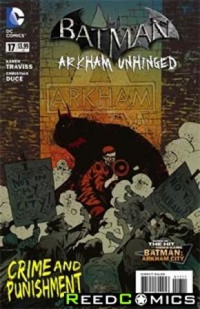 Batman Arkham Unhinged #17