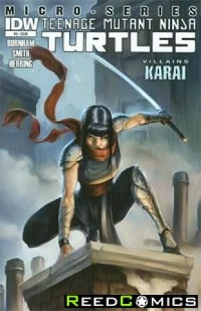 Teenage Mutant Ninja Turtles Villains Micro Series #5 Karai