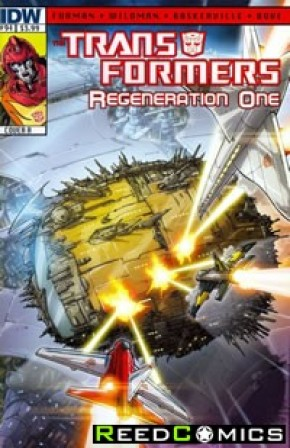 Transformers Regeneration One #94 (Cover A)