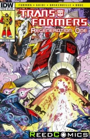 Transformers Regeneration One #94 (Cover B)