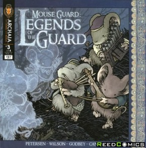 Mouse Guard Legend of the Guard Volume 2 #3