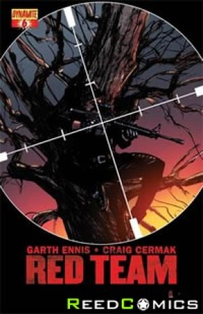 Garth Ennis The Red Team #6