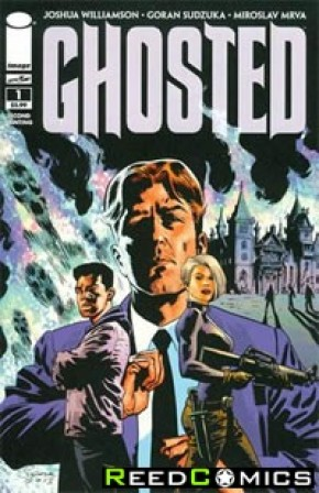 Ghosted #1 (2nd Print)