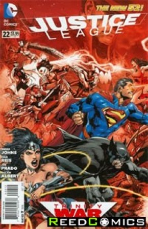 Justice League Volume 2 #22 (2nd Print)