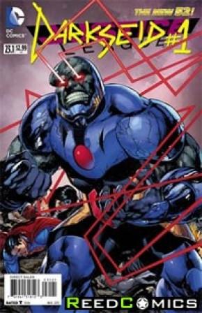 Justice League Volume 2 #23.1 Darkseid Standard Edition