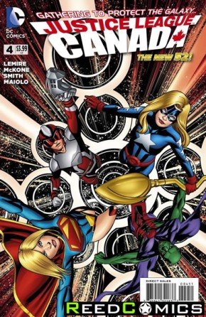 Justice League United #4 (Canada Variant Edition)