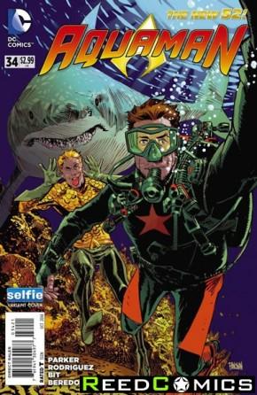 Aquaman Volume 5 #34 (DCU Selfie Variant Edition)
