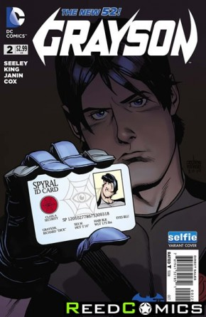 Grayson #2 (DCU Selfie Variant Edition)