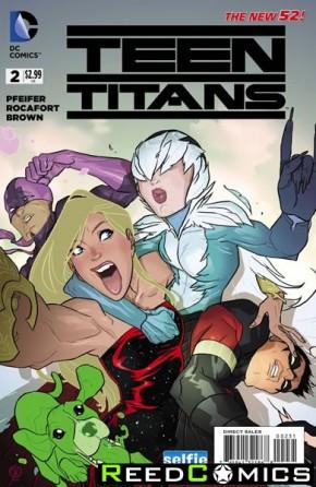 Teen Titans Volume 5 #2 (DCU Selfie Variant Cover)