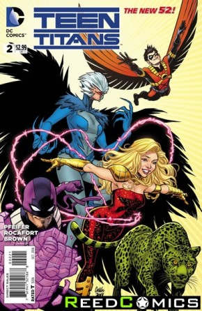Teen Titans Volume 5 #2 (1 in 25 Incentive Variant Cover)