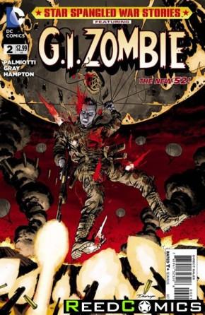 Star Spangled War Stories GI Zombie #2