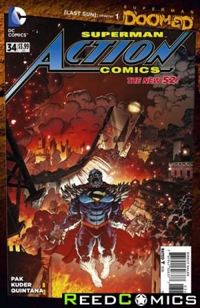 Action Comics Volume 2 #34