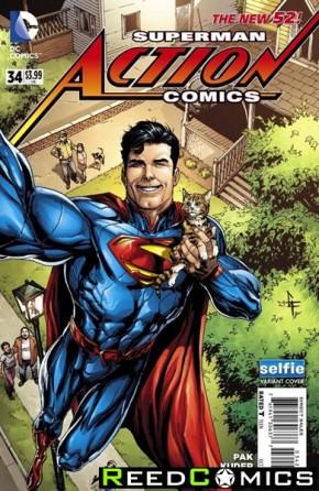 Action Comics Volume 2 #34 (DCU Selfie Variant Edition)