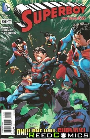 Superboy Volume 5 #34