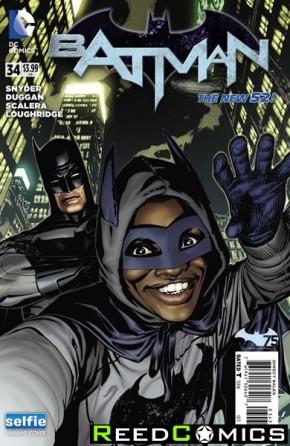 Batman Volume 2 #34 (DCU Selfie Variant Cover)