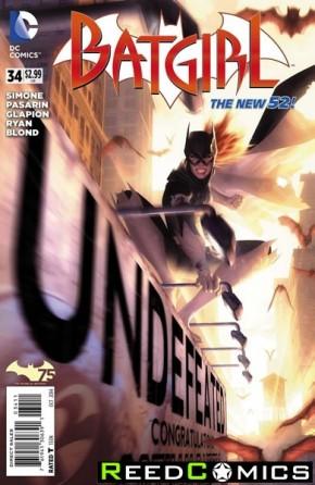 Batgirl Volume 4 #34