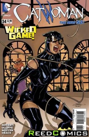 Catwoman Volume 4 #34