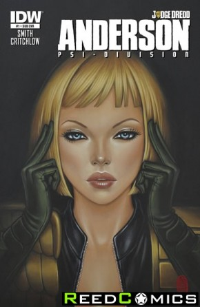 Judge Dredd Anderson Psi Division #1 (Subscripiton Variant Cover)