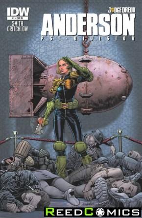 Judge Dredd Anderson Psi Division #1 (1 in 10 Incentive Variant Cover)