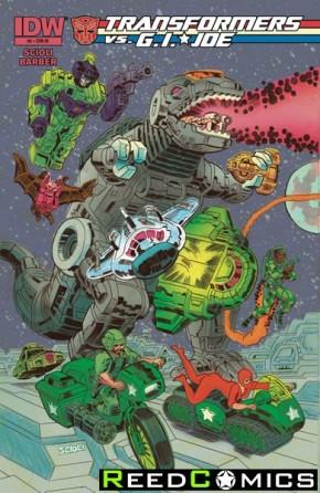Transformers vs GI Joe #2 (1 in 10 Incentive Cover Variant)